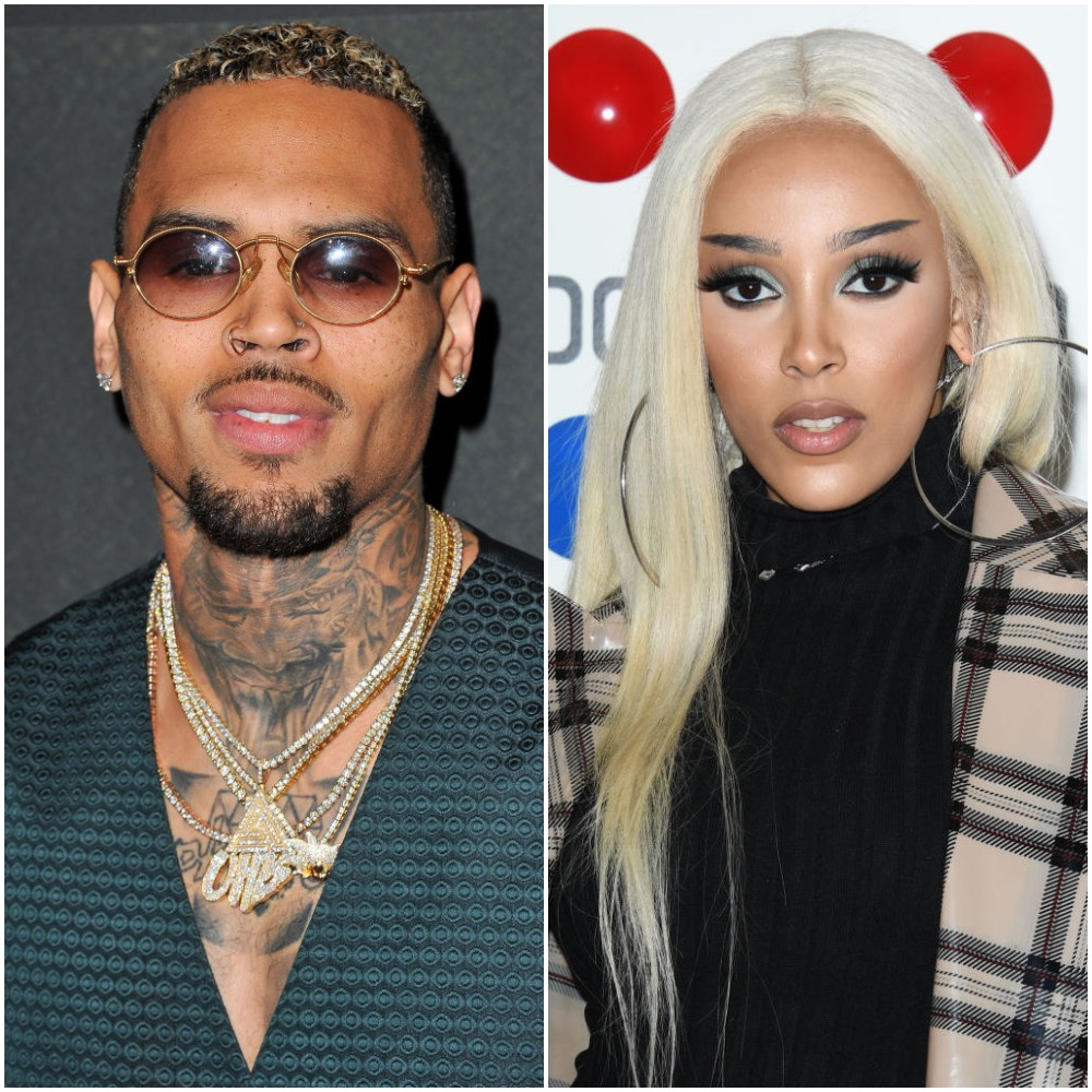 Chris Brown and Doja Cat