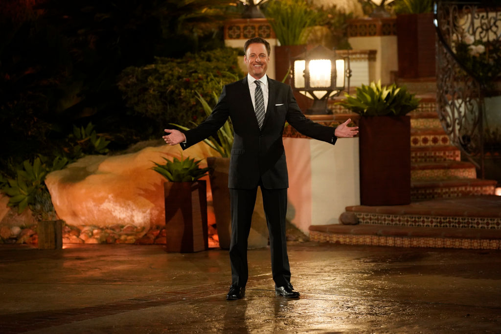 "Chris Harrison during mansion arrivals on ABC's ""The Bachelor Presents: Listen to Your Heart"" - Season One"