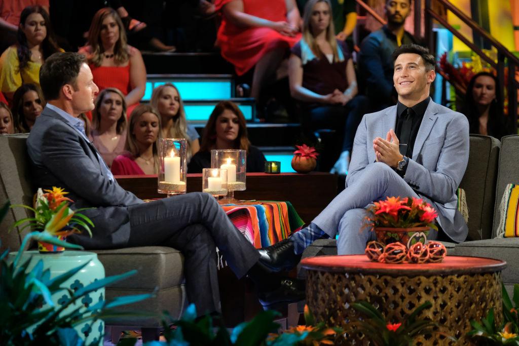 Chris Harrison and Blake Horstmann on 'Bachelor in Paradise' - Season Six