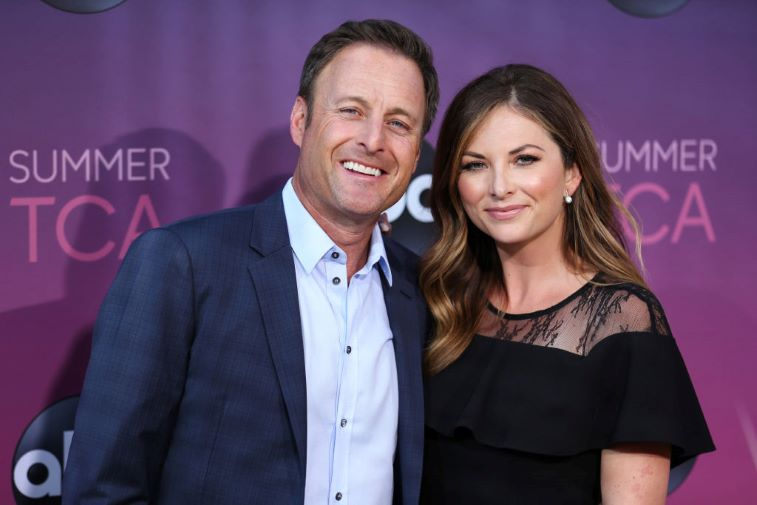 Chris Harrison and Lauren Zima