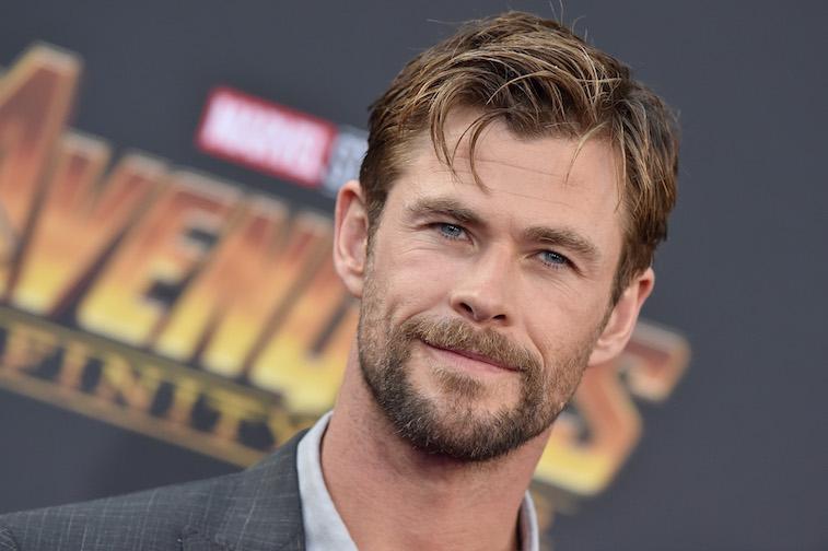 Chris Hemsworth on the red carpet