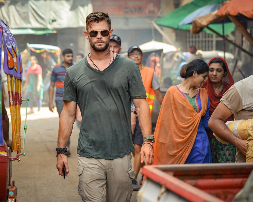 Chris Hemsworth is Tyler Rake