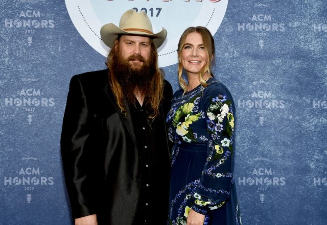 Chris and Morgane Stapleton in 2017
