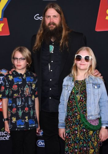 Chris Stapleton at the premiere of 'Toy Story 4'