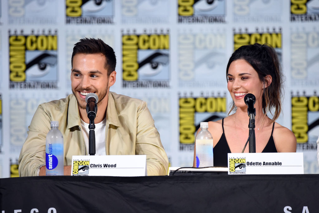 Chris Wood and Odette Annable