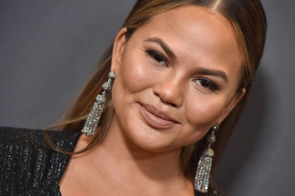 Chrissy Teigen at an event in January 2018