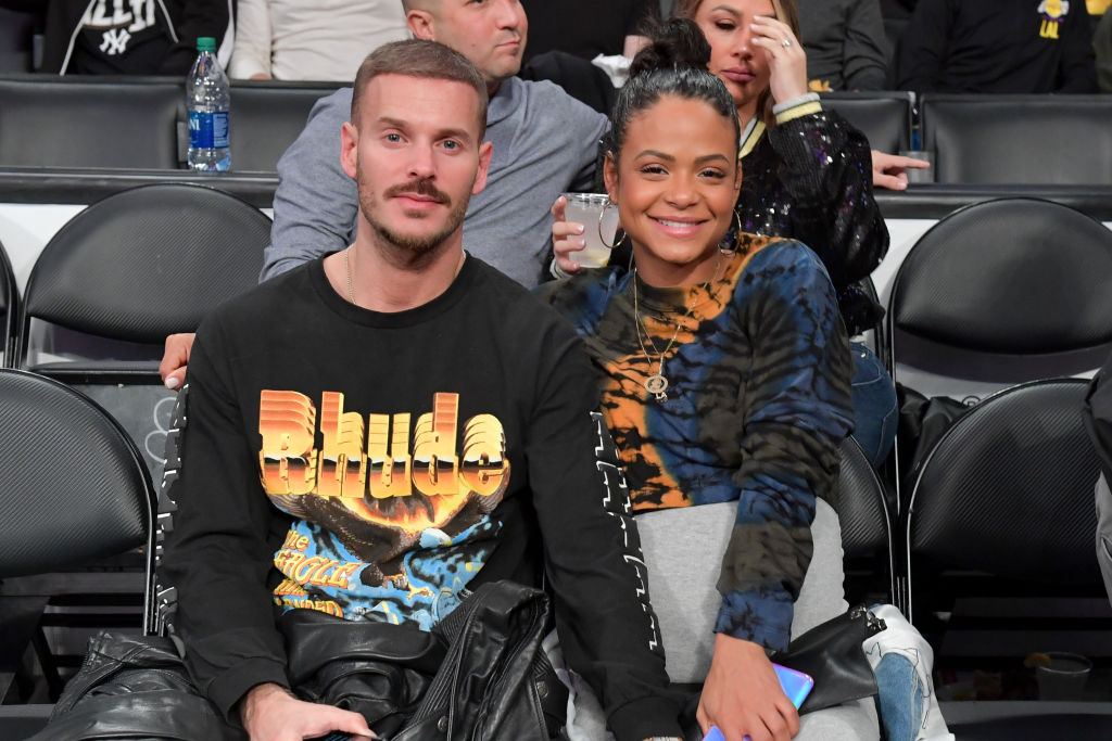 Matt Pokora and Christina Milian