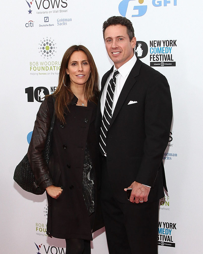 """Cristina Greeven and Chris Cuomo attend the 7th annual """"Stand Up for Heroes"""" benefit"""