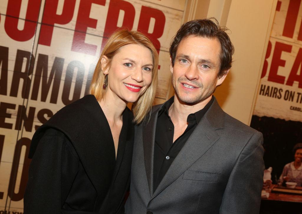 Claire Danes and Hugh Dancy smiling