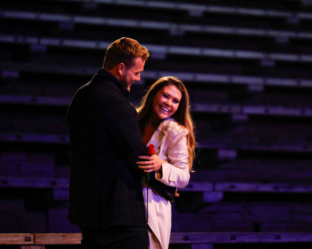 Colton Underwood and Caelynn Miller-Keyes on 'The Bachelor'