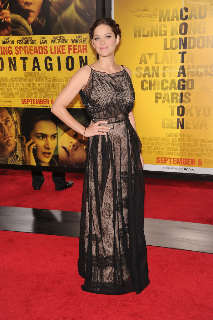 Contagion premiere: Marion Cotillard