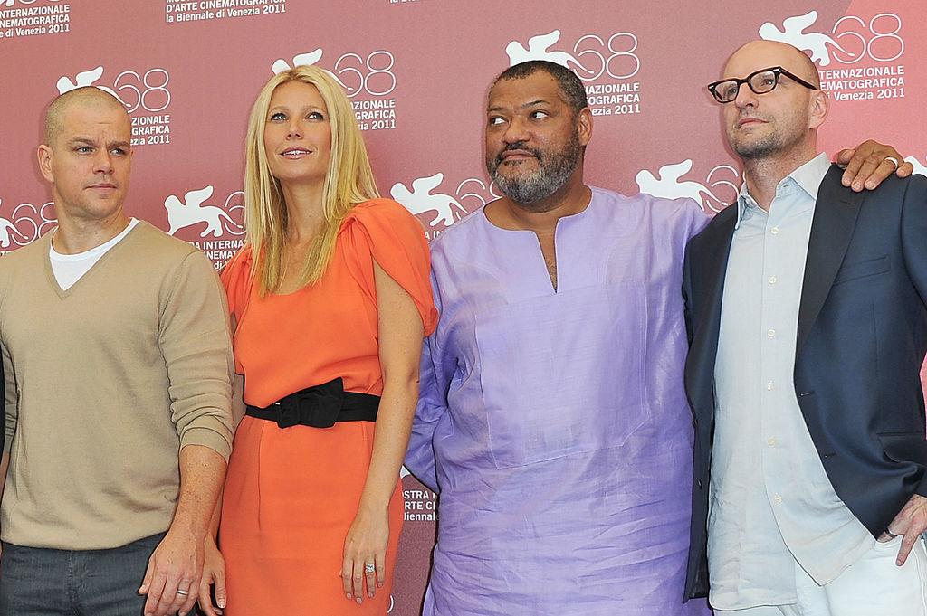 Matt Damon and Other 'Contagion' Cast ...