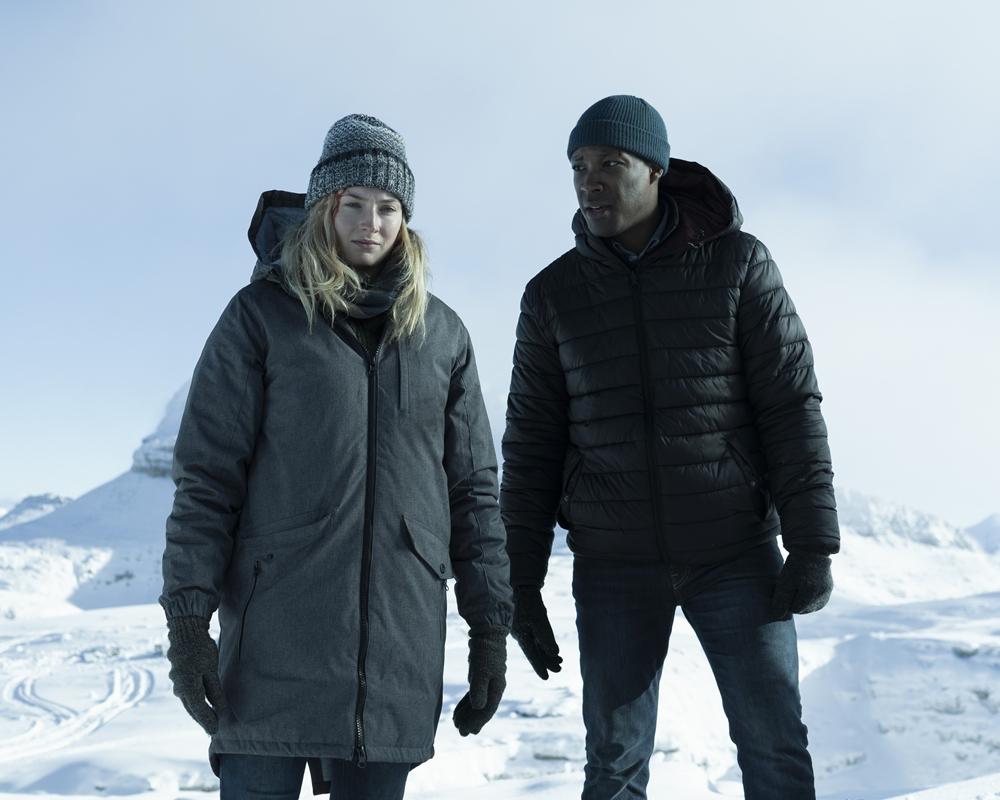 Sophie Turner and Corey Hawkins