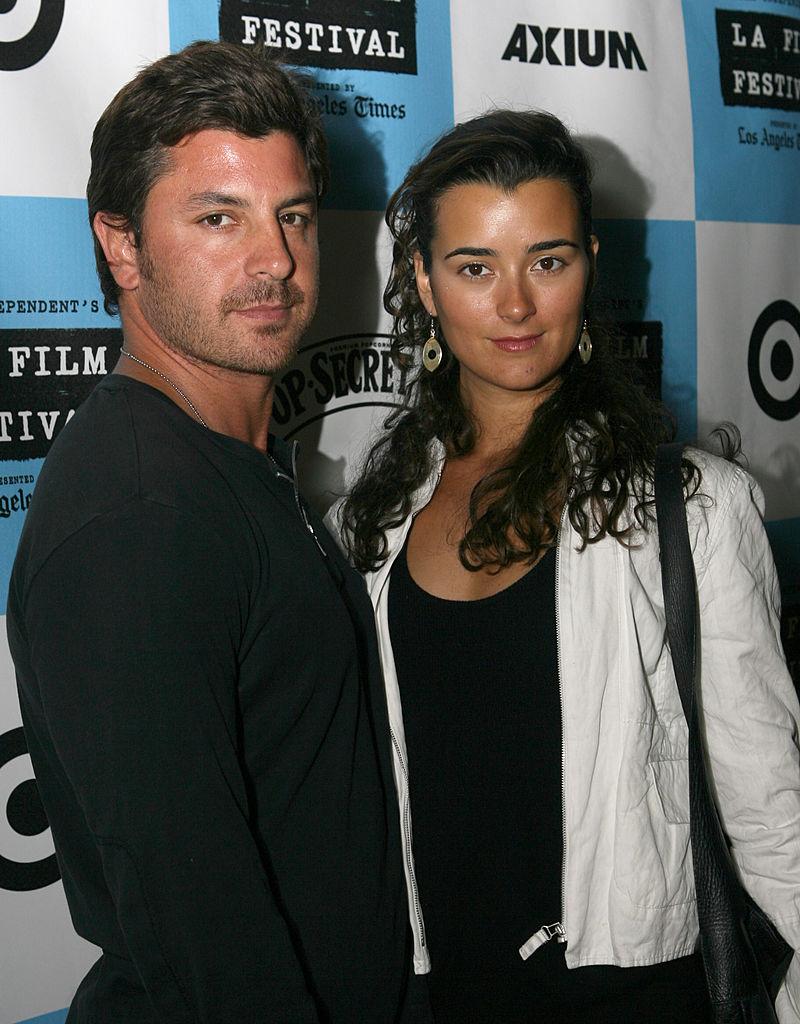 NCIS star Cote de Pablo and Diego Serrano
