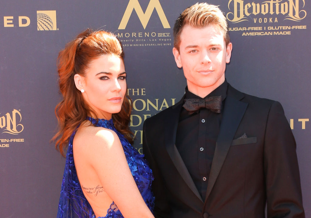 Courtney Hope and Chad Duell | Paul Archuleta/FilmMagic