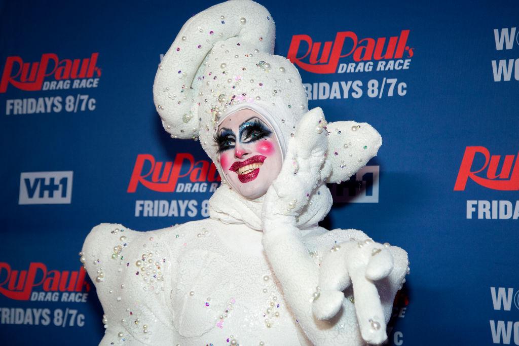 Crystal Methyd attends 'RuPaul's Drag Race Season 12' meet the queens