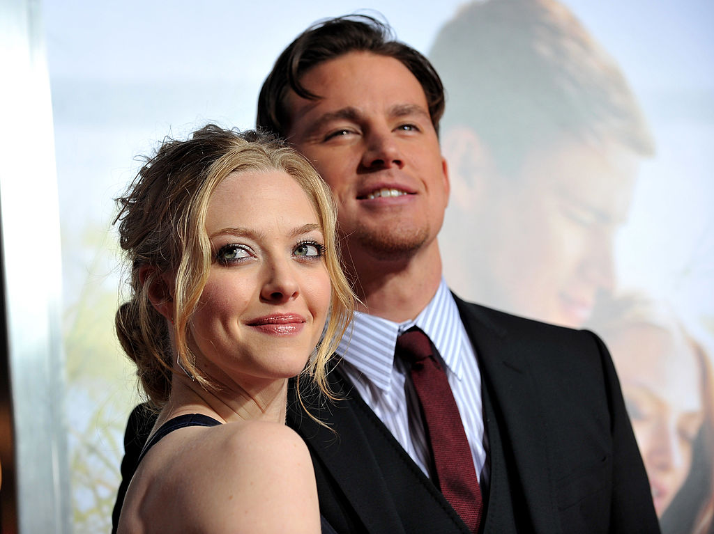 Actress Amanda Seyfried and actor Channing Tatum