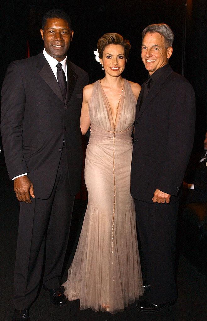 Dennis Haysbert, SVU star Mariska Hargitay, and NCIS star Mark Harmon