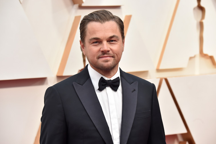 Leo DiCaprio on the red carpet