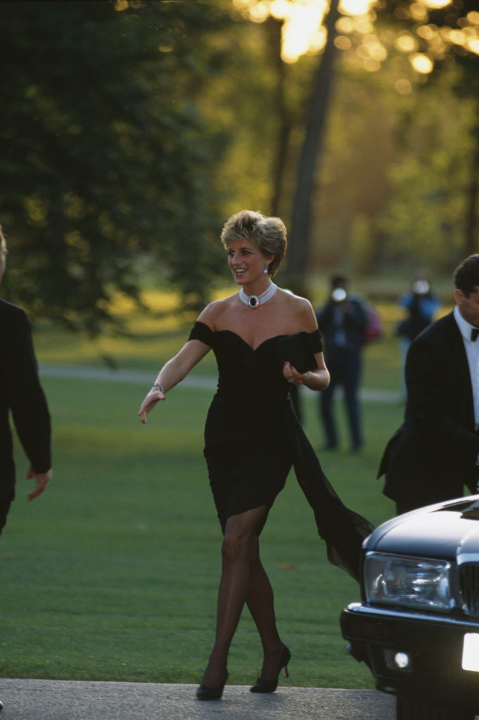 Princess Diana attends Vanity Fair Party At The Serpentine Gallery