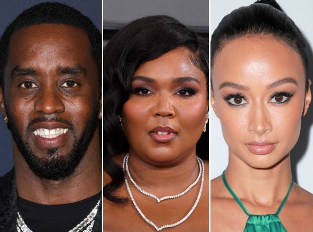 Fans Slam Diddy for Stopping Lizzo From Twerking During IG Dance Contest But Allowing Draya Michele to Do It