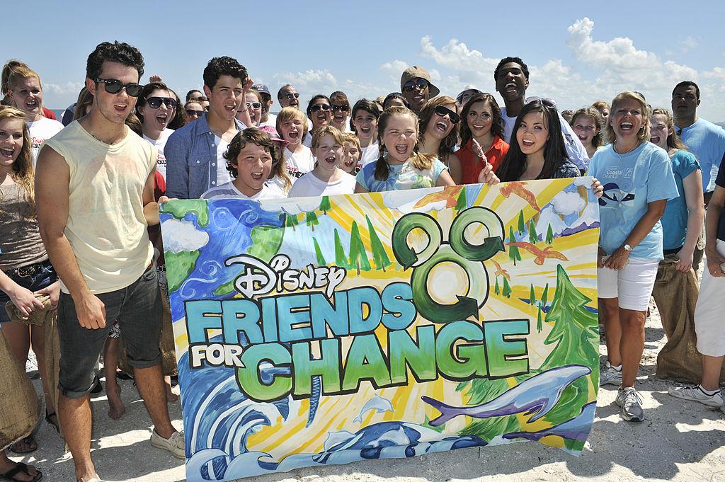 Disney Channel's Friends for Change Project