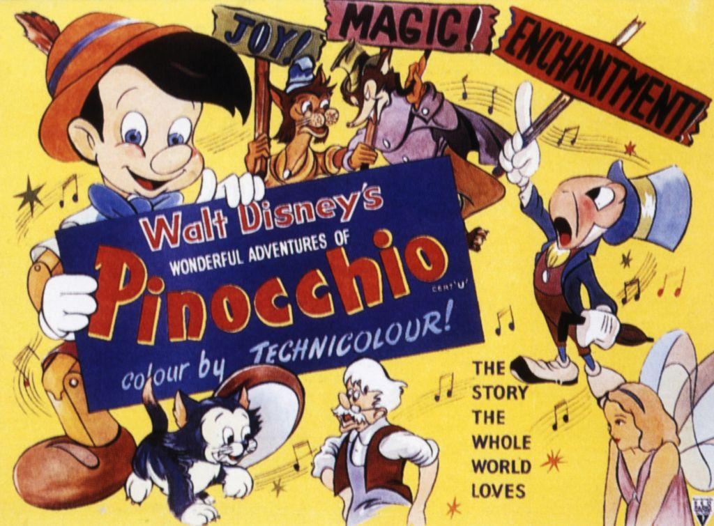 Walt Disney's 'Pinocchio,' released in 1940