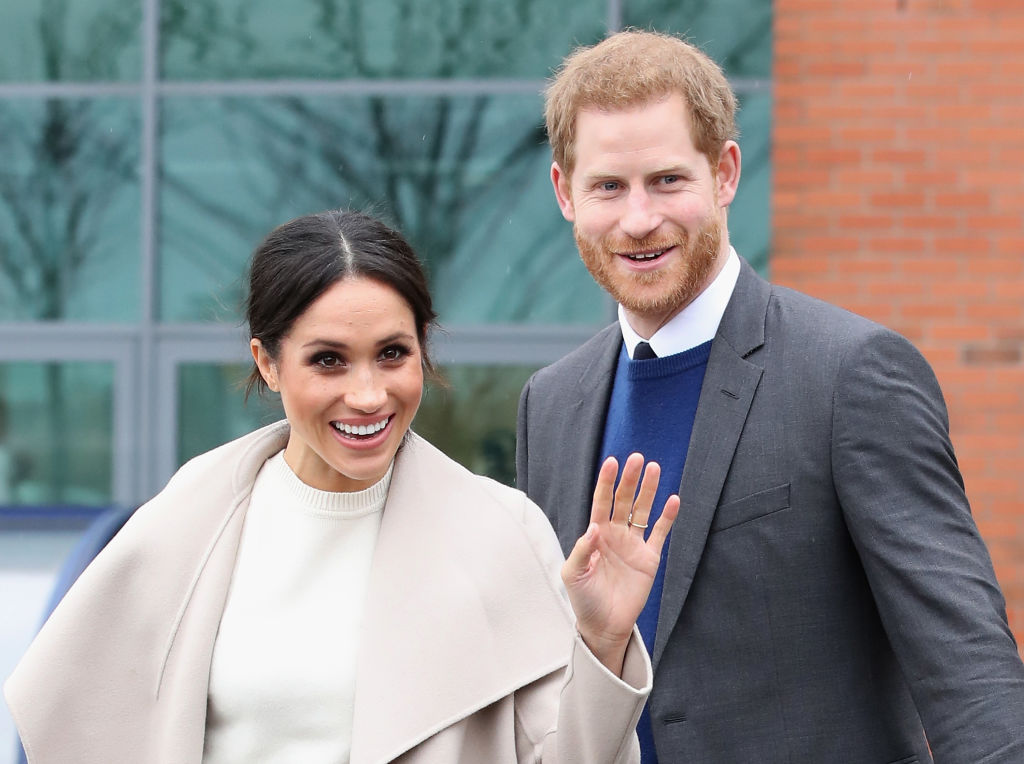 Prince Harry and Meghan Markle visit Catalyst Inc, a next generation science park, to meet young entrepreneurs and innovators on March 23, 2018 in Belfast, Nothern Ireland