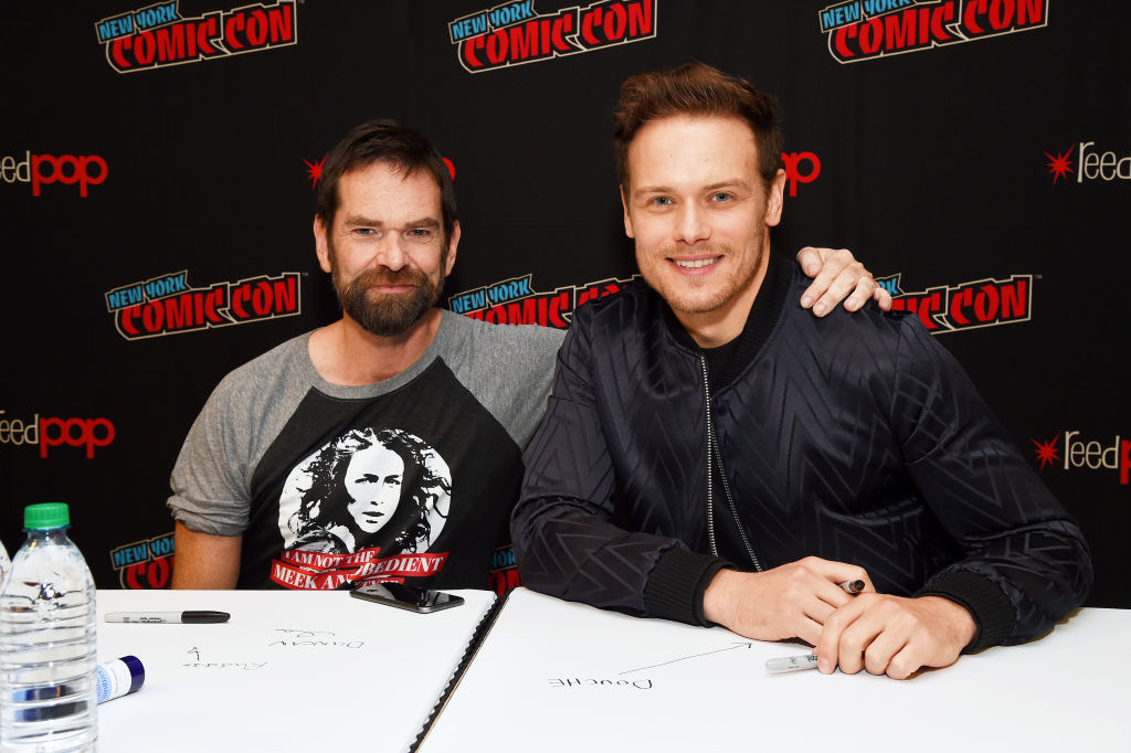 Duncan LaCroix and Sam Heughan