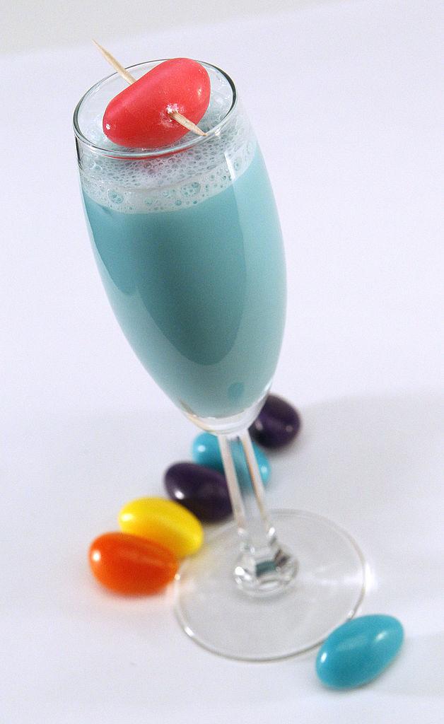 Easter egg cocktail