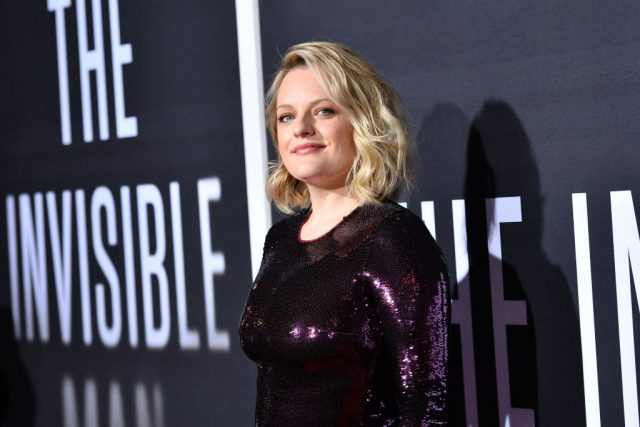 Elisabeth Moss at 'The Invisible Man' premiere