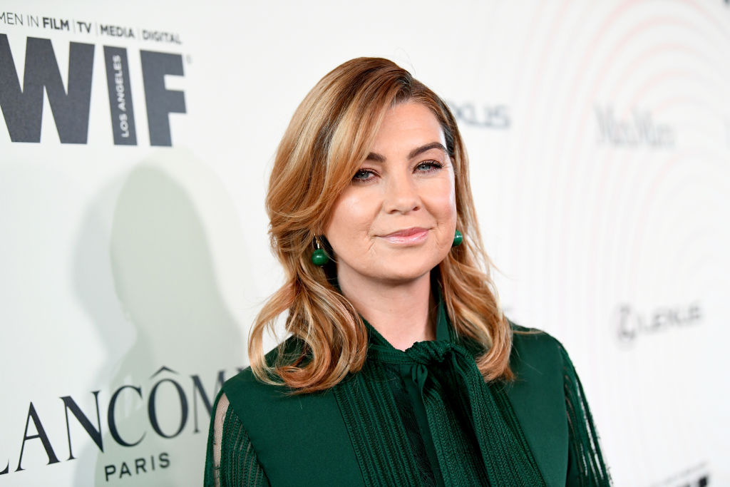 Ellen Pompeo at Women In Film 2018 Crystal + Lucy Awards Presented By Max Mara, Lancôme And Lexus - Red Carpet
