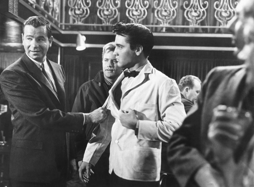 Elvis Presley and Walter Mattheau
