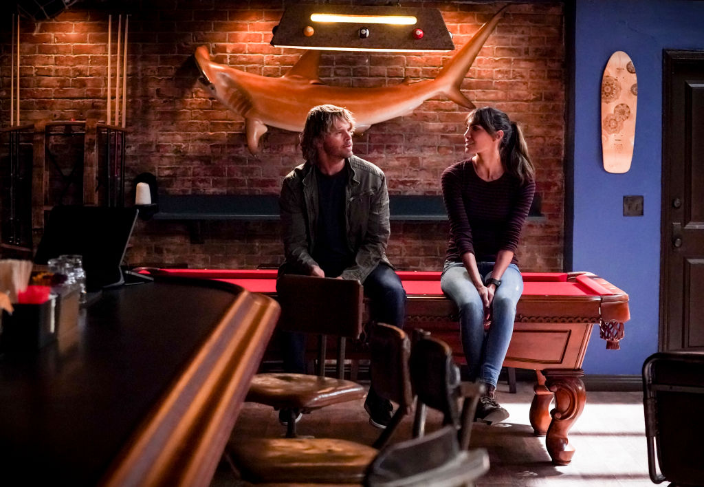 Eric Christian Olsen and Daniela Ruah | Monty Brinton/CBS via Getty Images