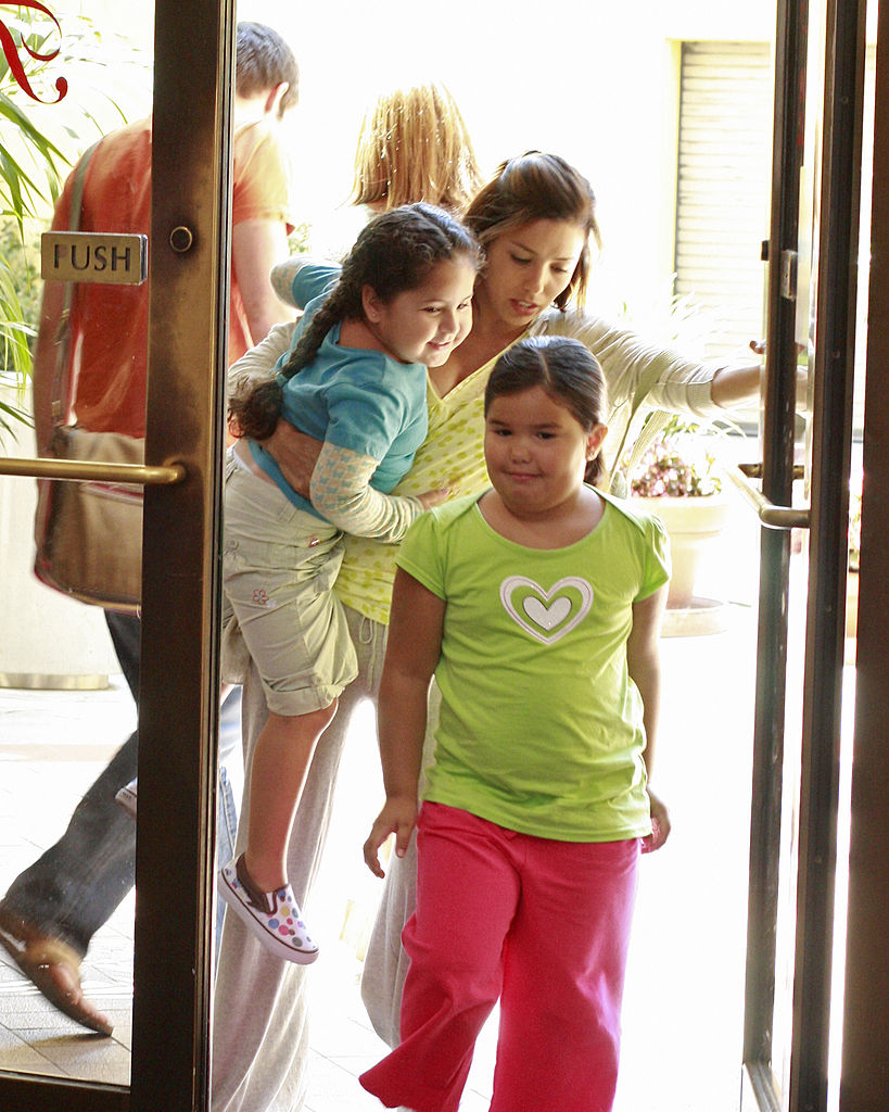 Desperate Housewives: Eva Longoria and kids