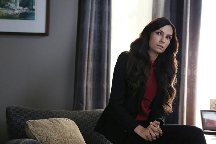Famke Janssen as 'Eve' on 'How to Get Away With Murder'