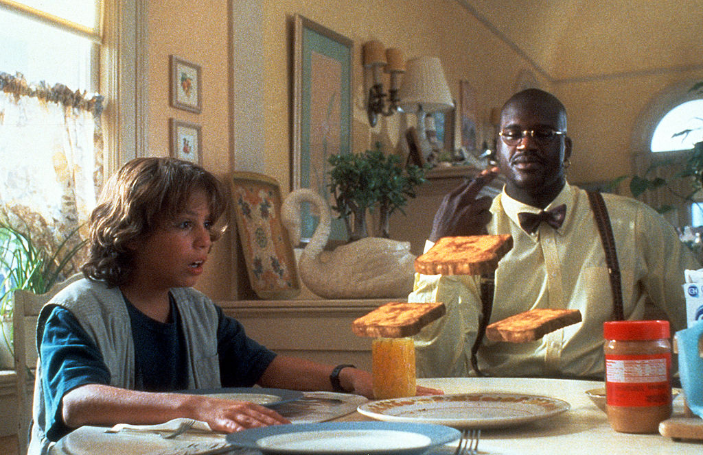 Francis Capra and Shaquille O'Neal in 'Kazaam'
