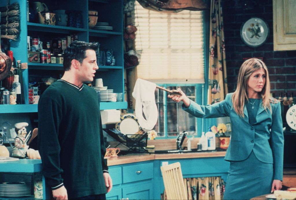 Friends: Matt LeBlanc and Jennifer Aniston