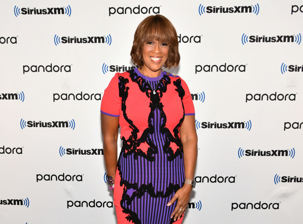 TV personality Gayle King visits SiriusXM Studios