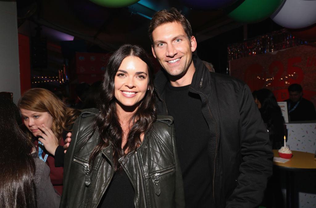 Katie Lee and husband Ryan Biegel