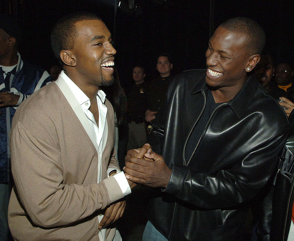 Kanye West and Tyrese