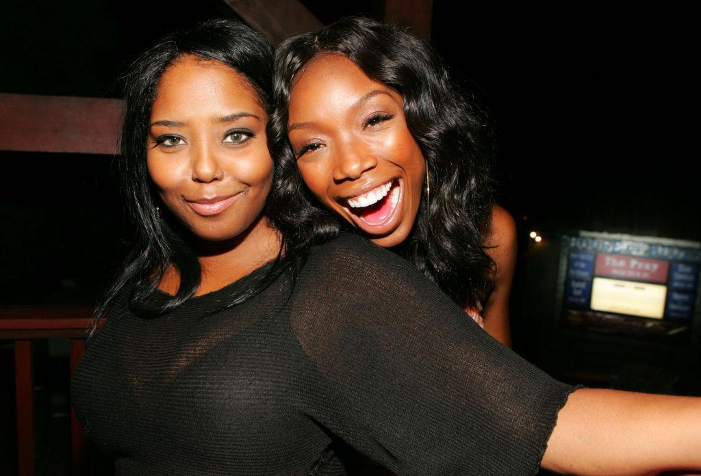 Shar Jackson and Brandy