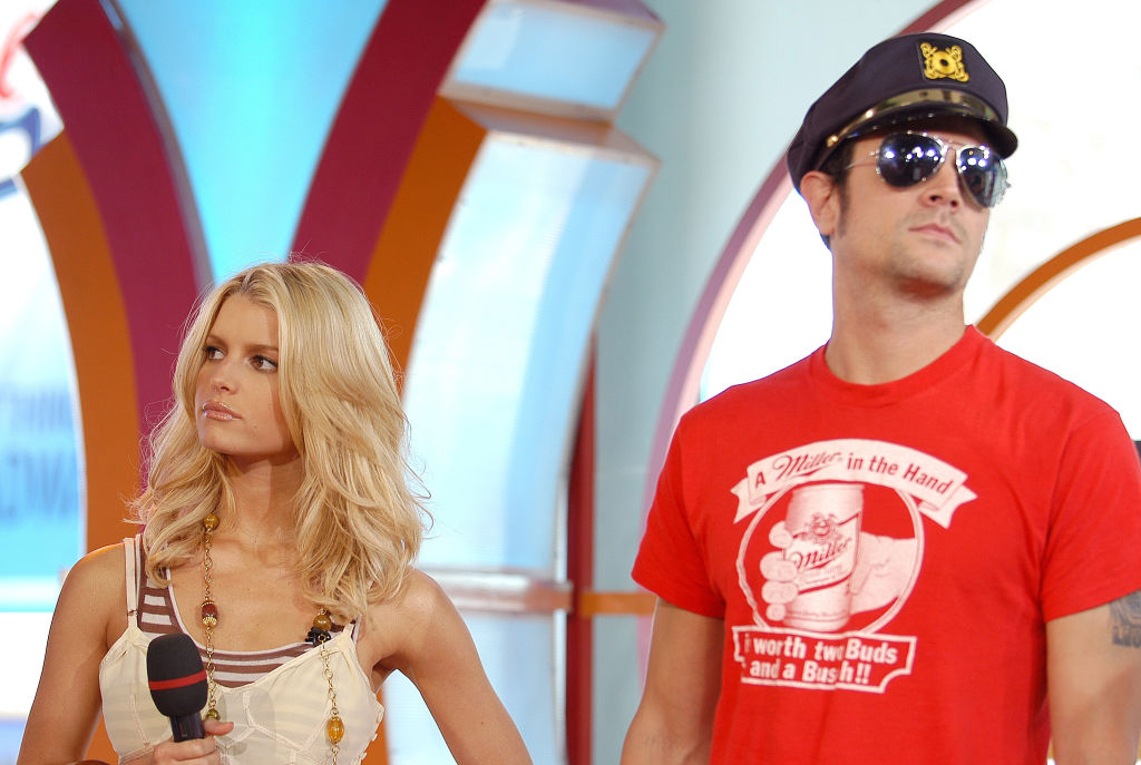 Jessica Simpson and Johnny Knoxville in 2005