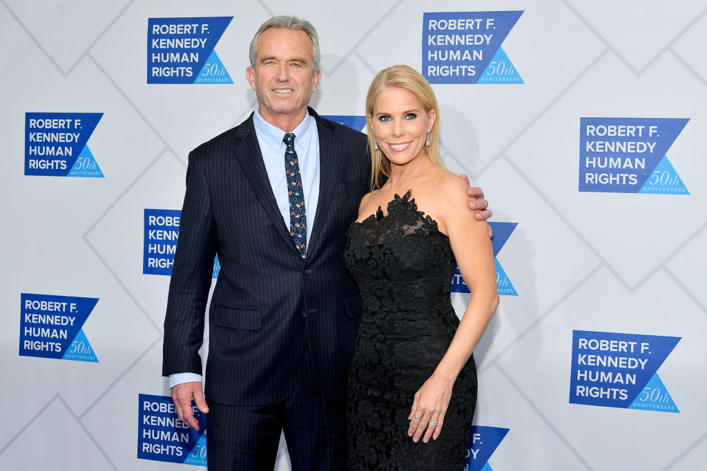 Cheryl Hines and Robert Kennedy, Jr.