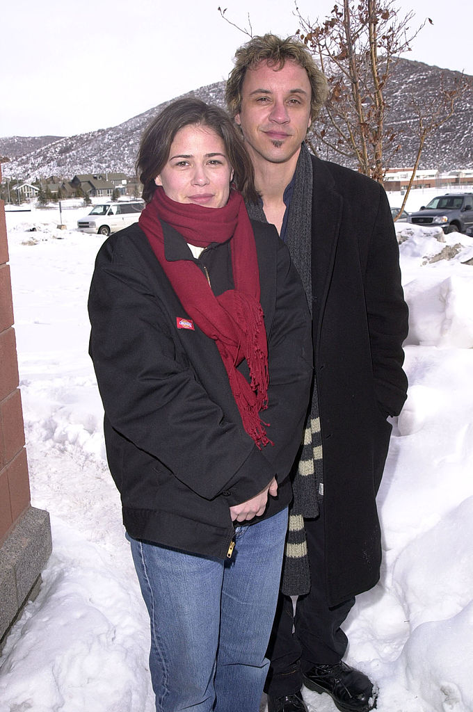 Maura Tierney and former husband Billy Morrissette