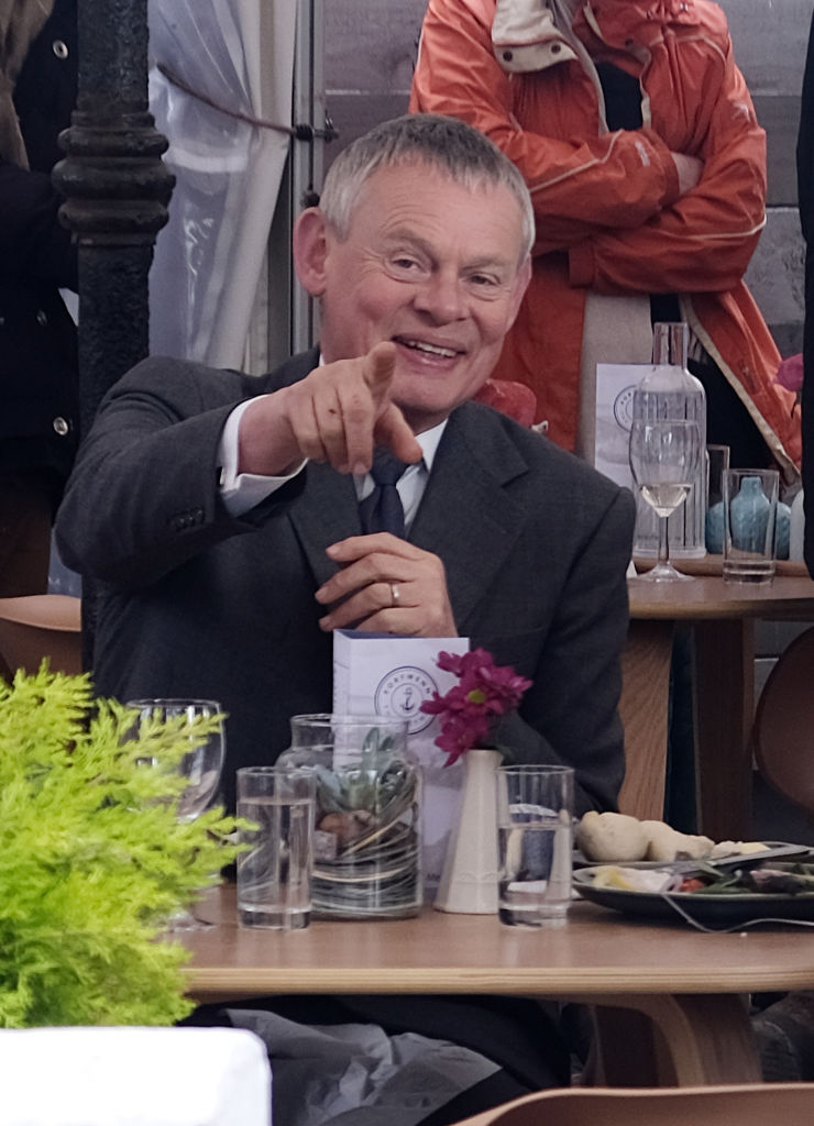 Martin Clunes, star of 'Doc Martin'