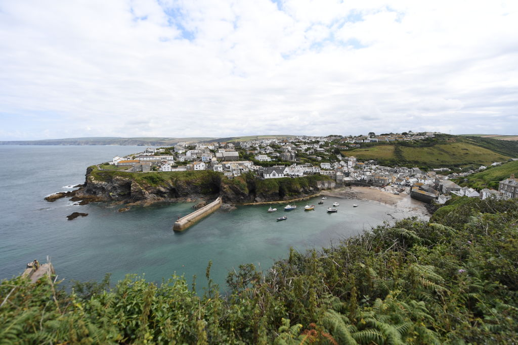 'Doc Martin' is filmed in this Cornish fishing village of Port Isaac