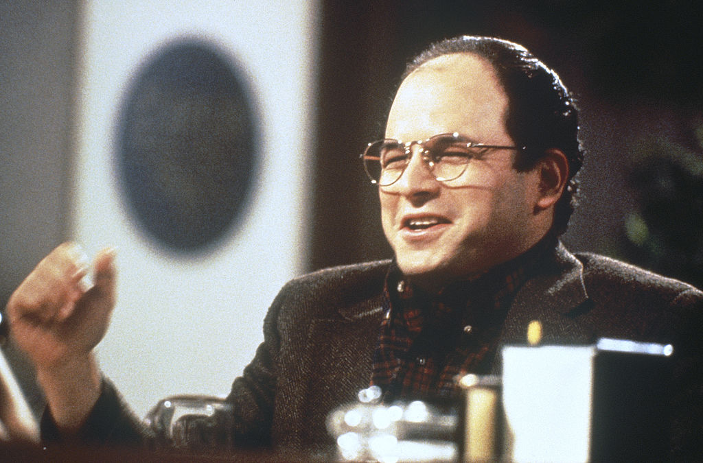 Jason Alexander as George Costanza in 'Seinfeld'