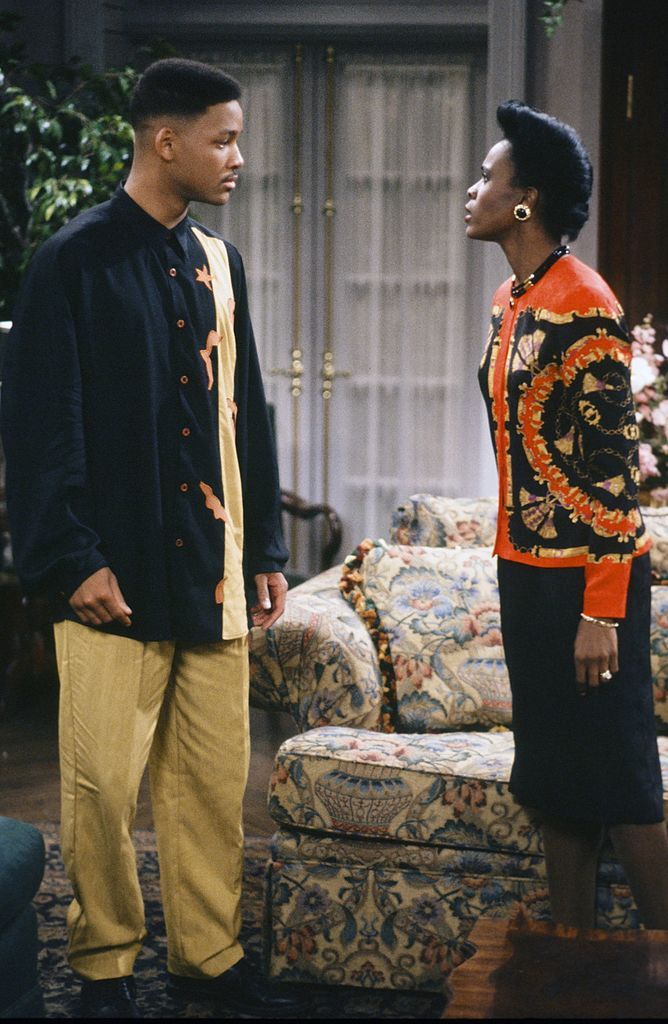Will Smith and Janet Hubert in 'The Fresh Prince of Bel-Air'