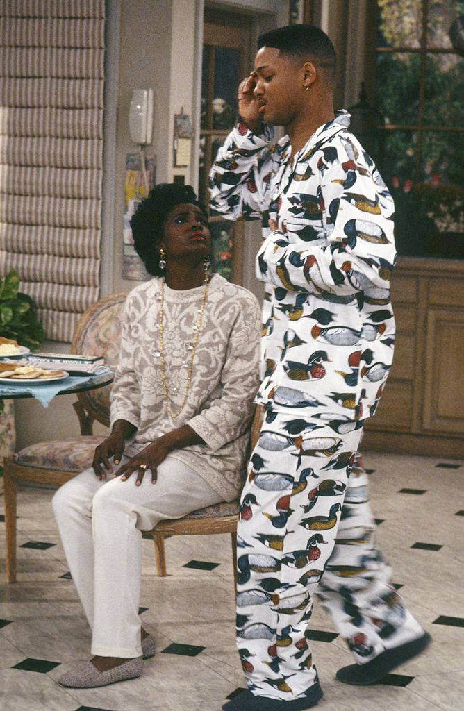 Janet Hubert and Will Smith in 'The Fresh Prince of Bel-Air'